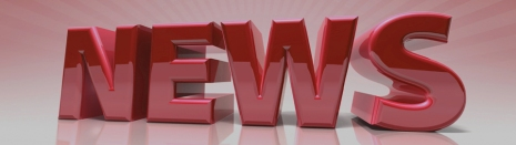 "3D generated word ""NEWS"" with clipping PATH"